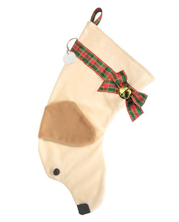 Yellow Lab Stocking Treat Holder