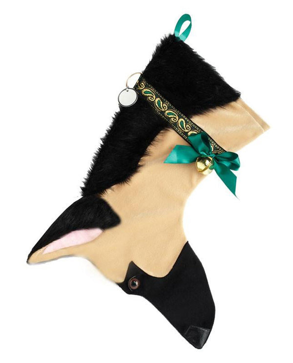 German Shepherd Stocking Treat Holder