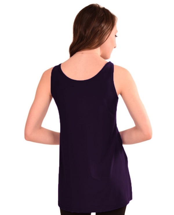 Sympli Plus Size Scoop Neck Tank Relax