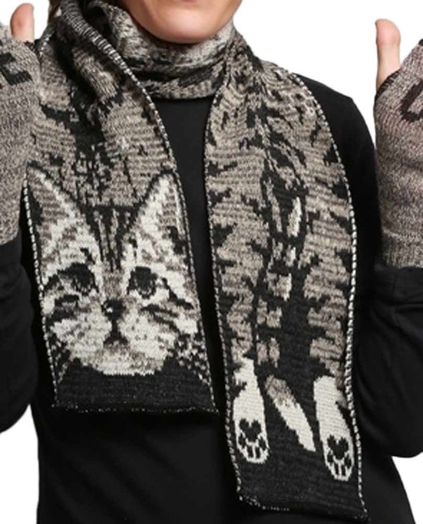 Green 3 432-119 Kitty Scarf