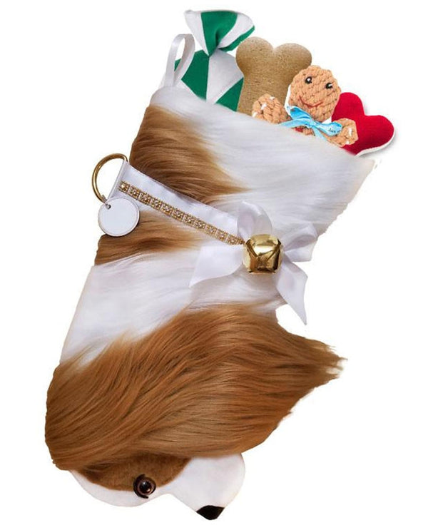 Cavalier King Charles Spaniel Christmas Stocking treats not included