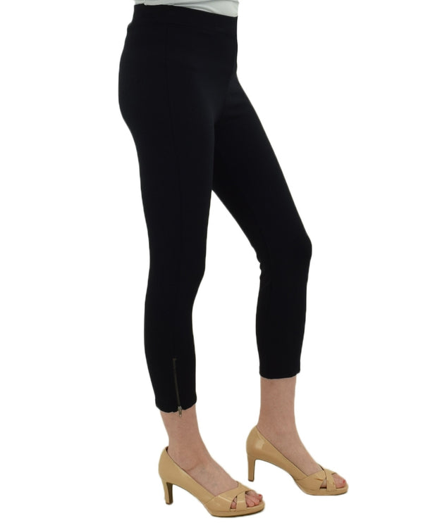 Skyes The Limit 21502 Side Zipper Cropped Leggings