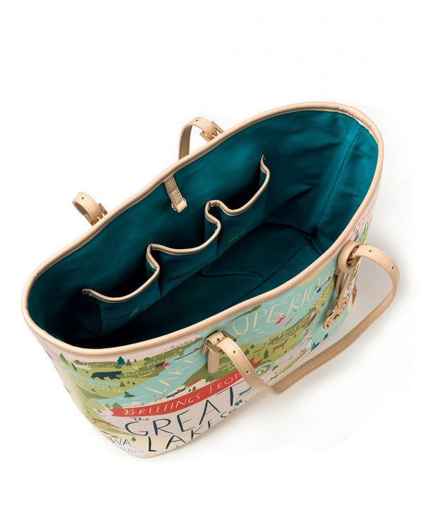 Spartina 954407 Great Lakes Large Tote