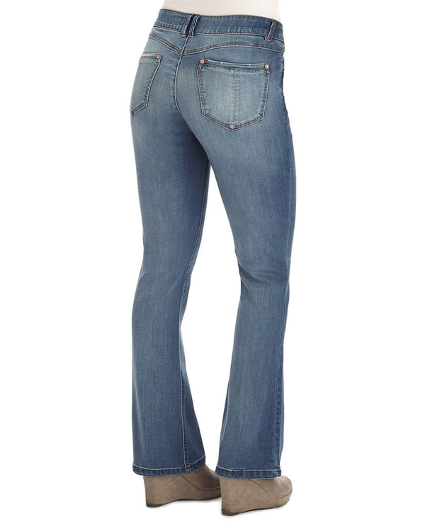 Democracy B12211RDH Ab Solution Itty Bitty Boot Jean with sculpting technology and no-gap waistband