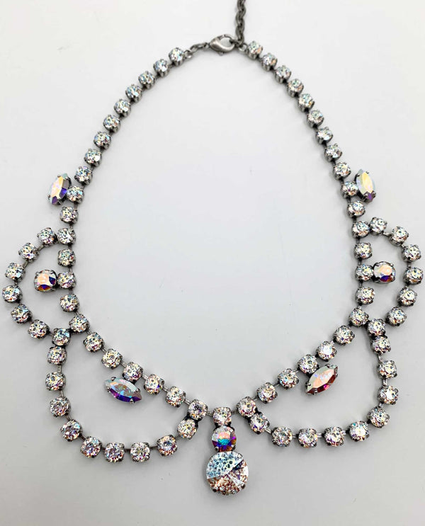 Custom Collar Necklace By Rachel Marie Designs White Patina