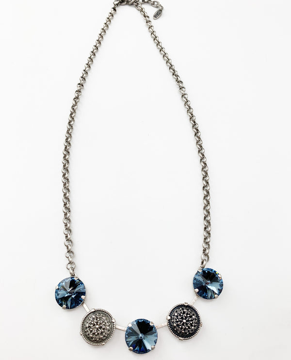 Valerie Necklace by Rachel Marie Designs Denim