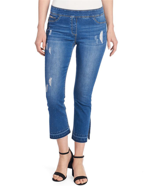 Coco and Carmen 2019073 Ankle Ankle Jeans Front View