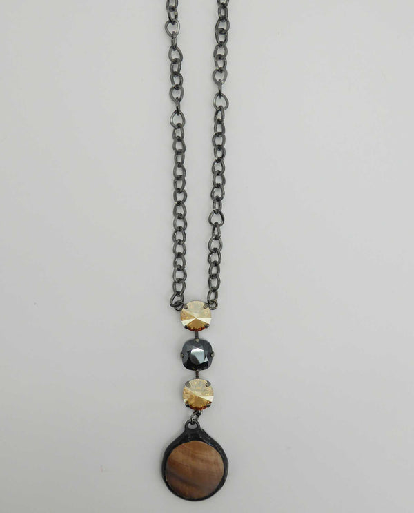 One Of A Kind Necklace By Rachel Marie Designs