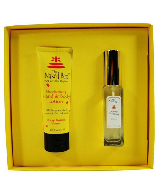 The Naked Bee NBPGS-O Orange Blossom Gift Set