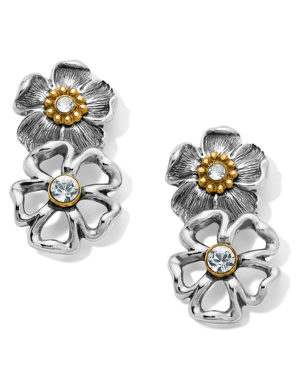 Brighton JA6462 Lux Garden Post Drop Earrings