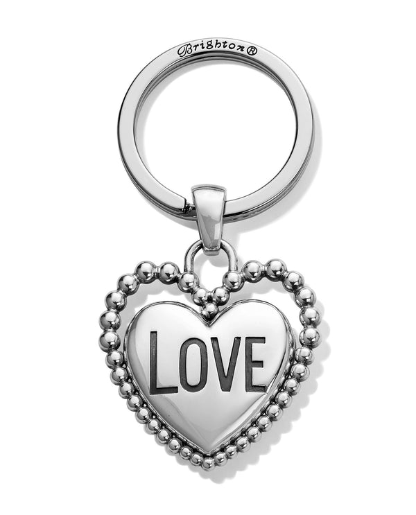 Brighton E18150 Beaded Love Key Fob