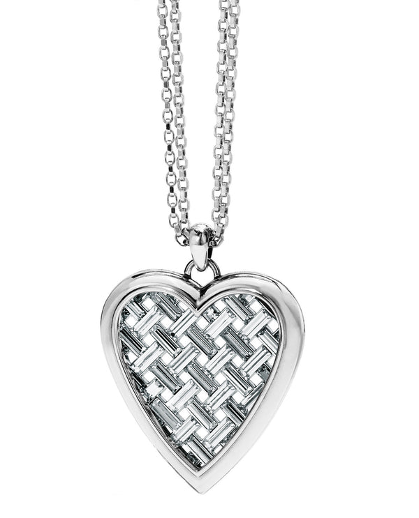 Brighton JM2501 Love Cage Heart Convertible Necklace