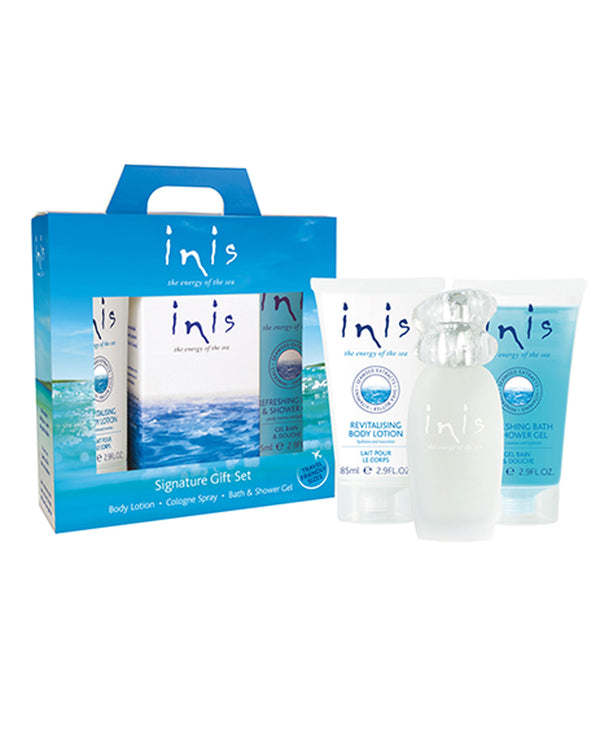 Inis 8016447 Energy of the Sea Signature Gift Set
