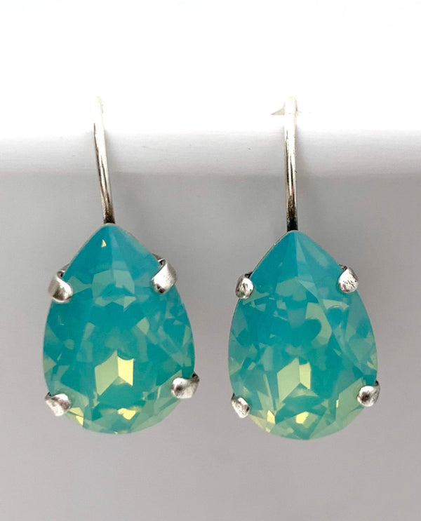 Pear Shape Drop Earring by Rachel Marie Designs Pacific Opal