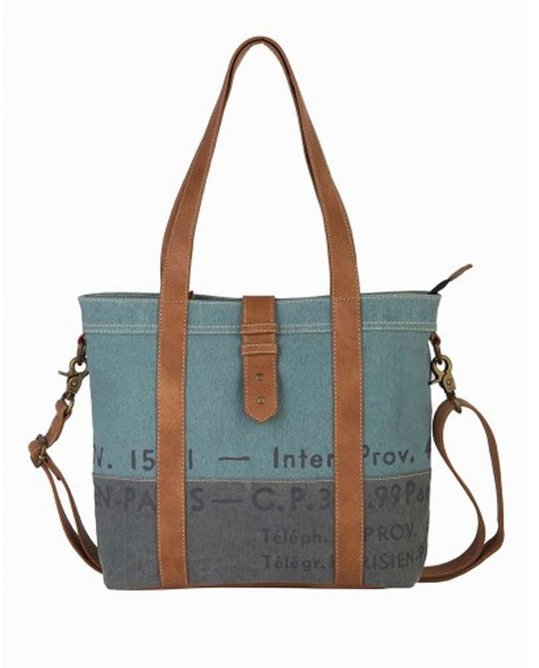 Mona B M-5932 Blue Skies Convertible Shoulder Bag