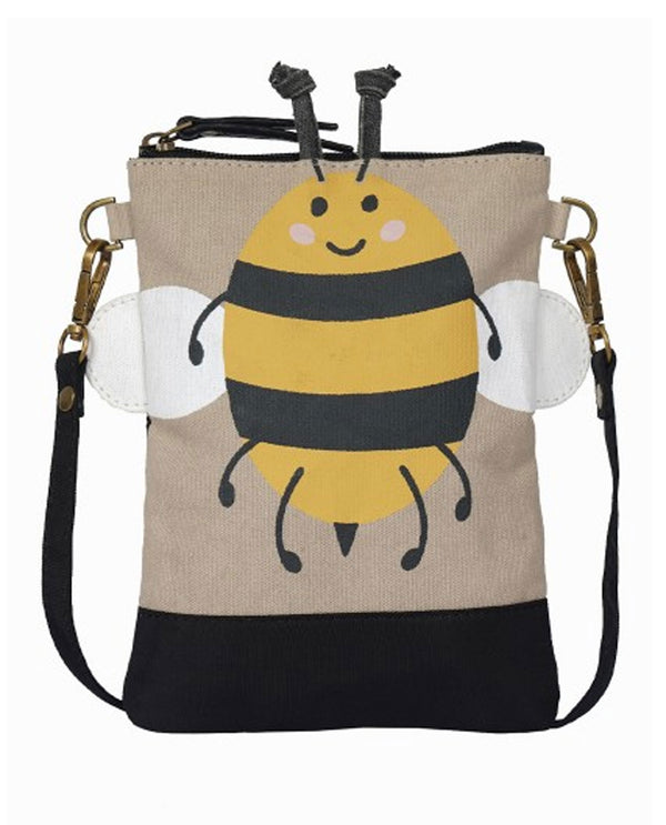 Mona B M-5879 Bumble Bee Small Kids Crossbody