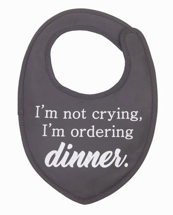Mona B M-5898 Dinner Bib with Pacifier Clip