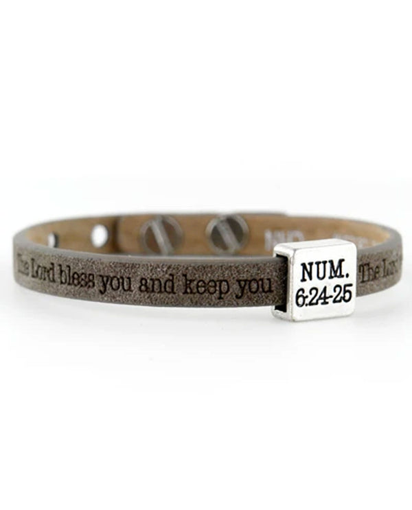 Good Works Numbers 6:24-25 Bracelet Earth_159