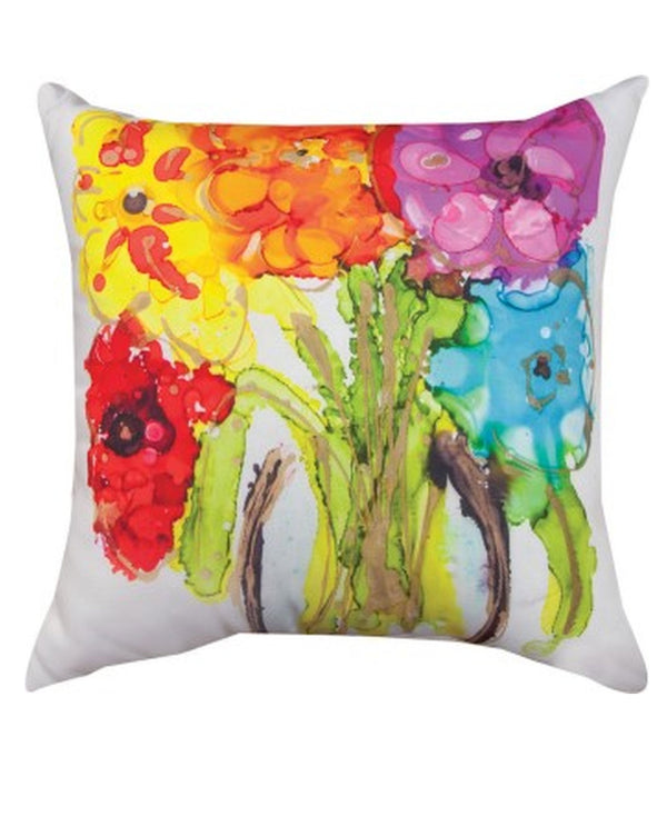 Manual Woodworker & Weavers SLLRBW Rainbow Pillow