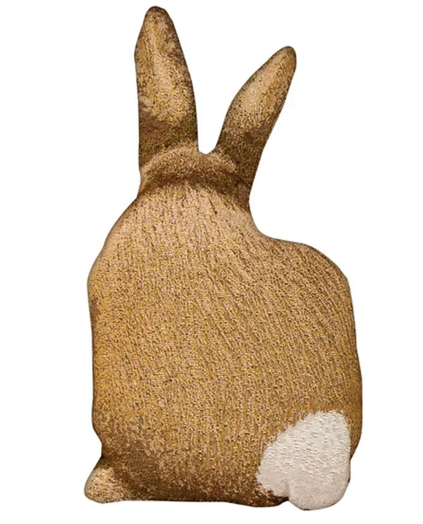 Manual Woodworker & Weavers TSHARE Hare Raising Shaped Pillow