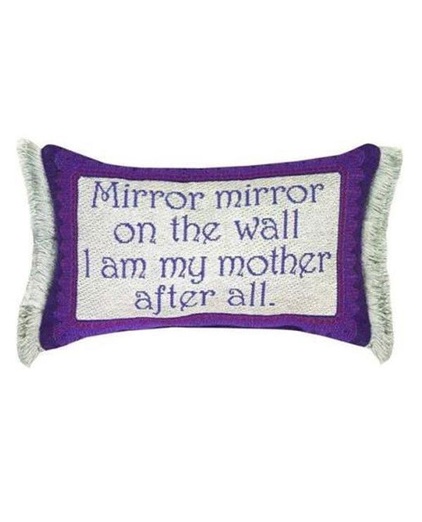 Manual Woodworker & Weavers TWMHBM Mirror Mirror Mother Pillow