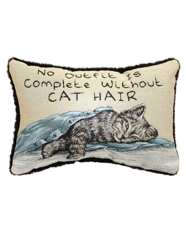 Manual Woodworker & Weavers TWNOIC No Outfit-Cat Pillow