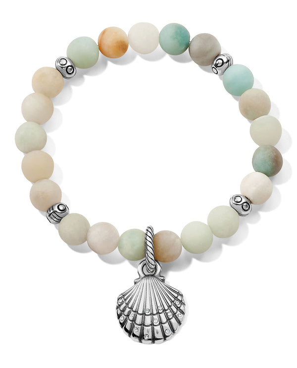 Brighton JF7503 Sea Shore Shell Stretch Bracelet