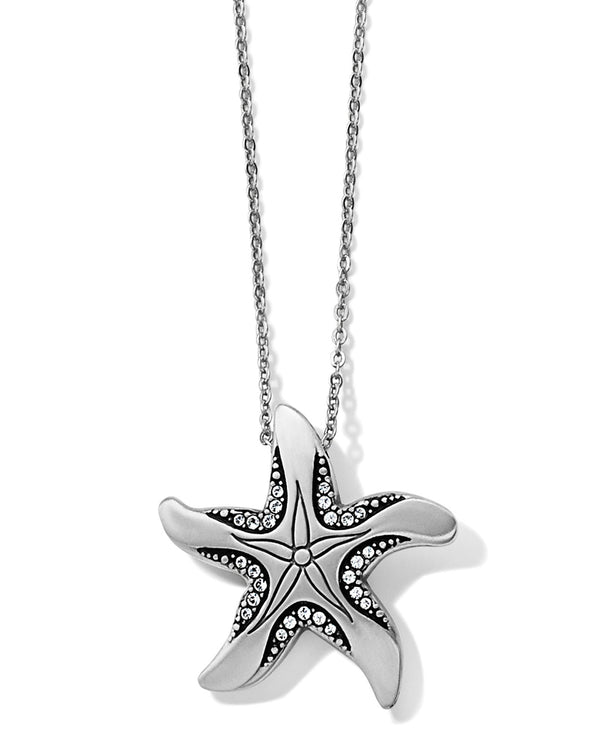 Brighton JM2433 Trust Your Journey Reversible Starfish Necklace