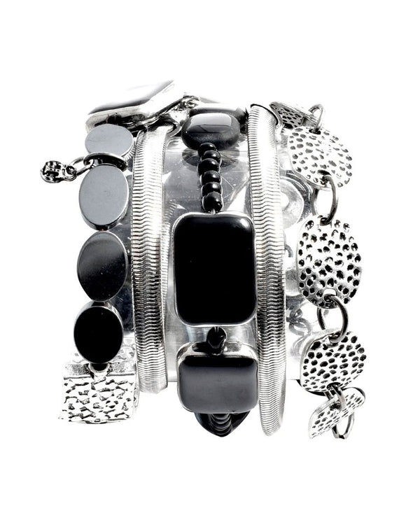 Treska FRY7214 Friday Night! Multi Row Magnetic Clasp Bracelet