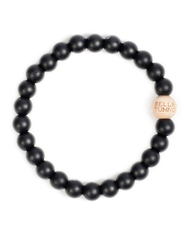 Bella Tunno GB12B Bakersfield Black Teething Bracelet Black
