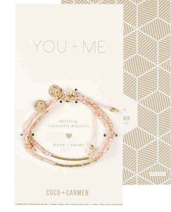 Coco + Carmen 1821221D You and Me Friendship Bracelet