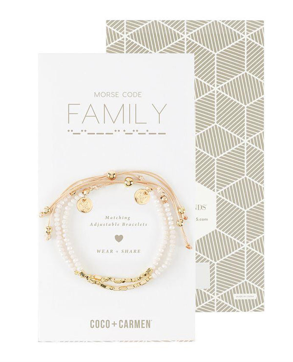 Coco + Carmen 2015051A Family Friendship Bracelet