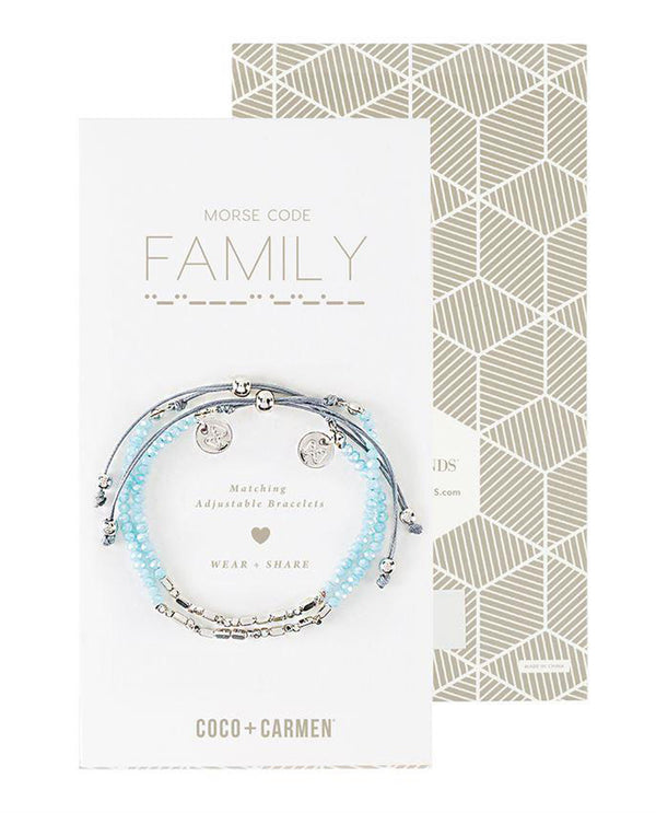 Coco + Carmen 2015051B Family Friendship Bracelet