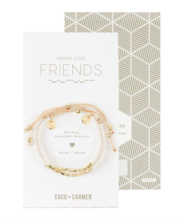 Coco + Carmen 2015052A Friend Friendship Bracelet