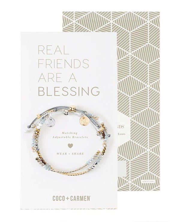Coco + Carmen 2015053A Bless Friendship Bracelet