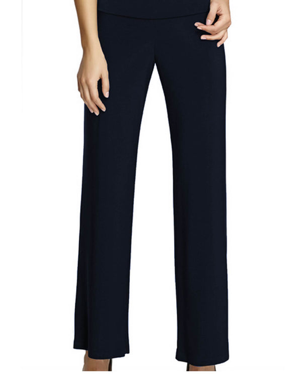 Frank Lyman 006 Knit Pant Midnight Navy