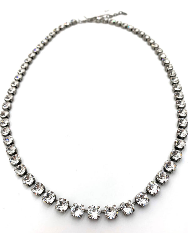 Jess Lux Necklace by Rachel Marie Designs Clear