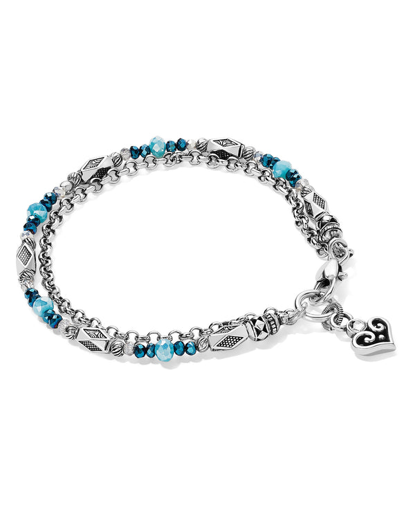 Brighton JF784D Gleam On Heartglow Bracelet