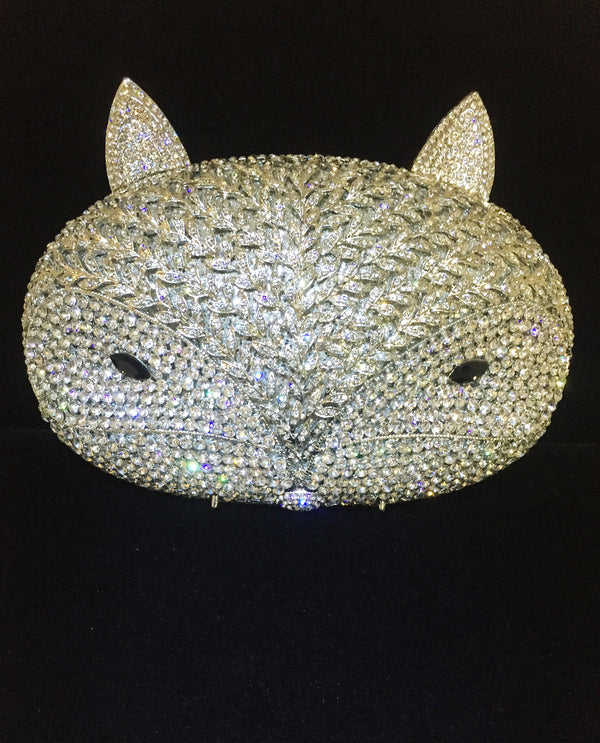 Fox Crystal Clutch