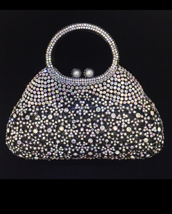 Crystal Evening Bag with Handle