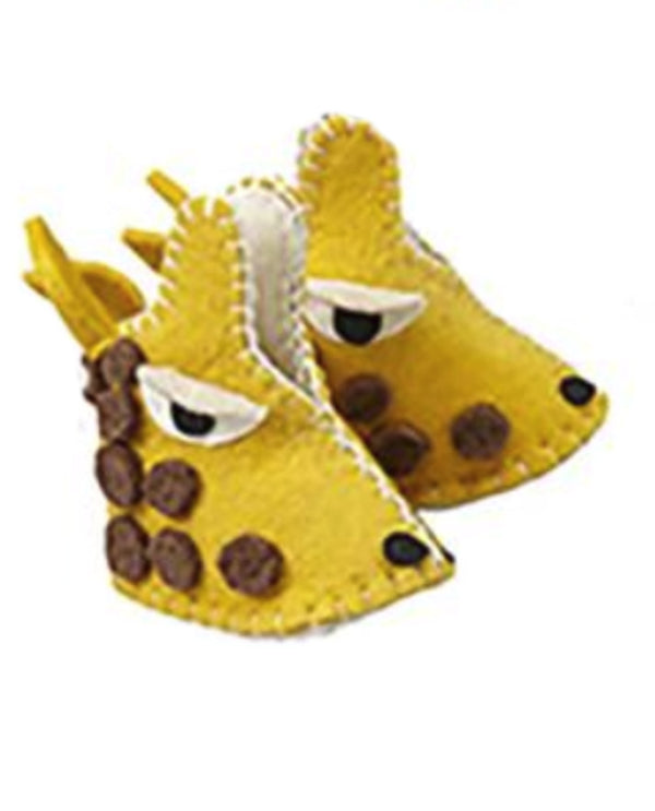 Silk Road Bazaar PN05 Zooties Baby Giraffe Booties