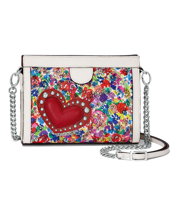 Brighton H1546M Love Bouquet Small Shoulderbag