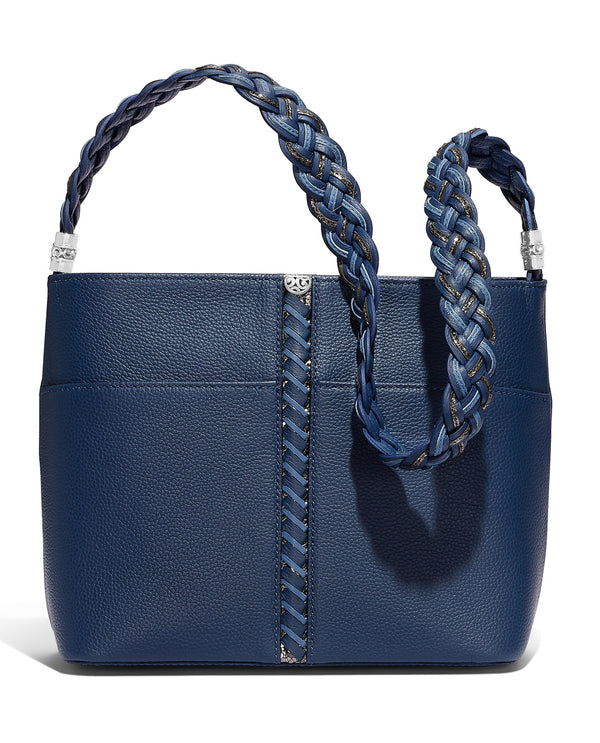 Brighton H4312F Beaumont Square Bucket Bag French Blue