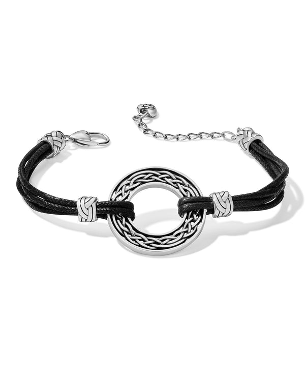 Brighton JF7770 Interlok Weave Cord Bracelet
