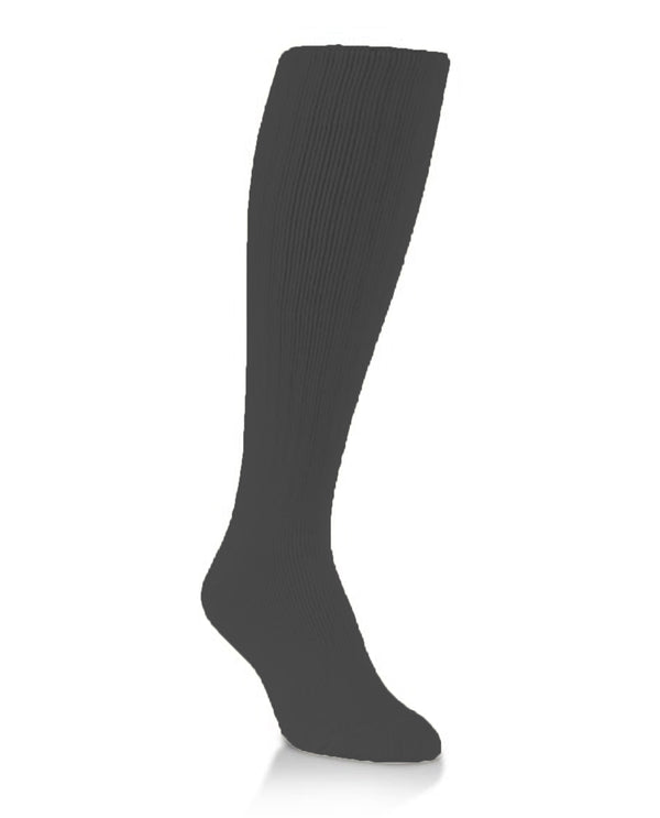 World's Softest Socks Black Cable Knee High