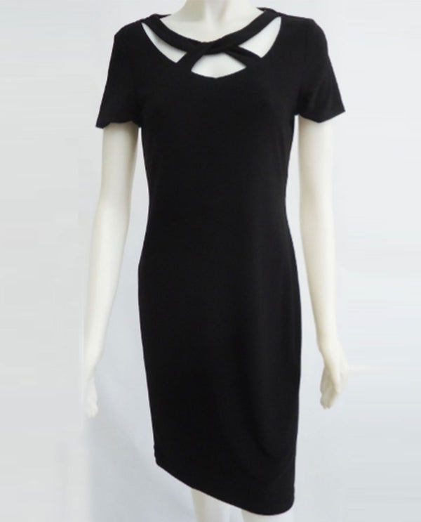 Michael Tyler 20S3505 Twist Neck Dress