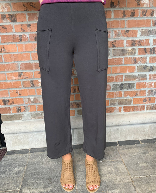Prairie Cotton Pocket Crop Pant ST410 Coal