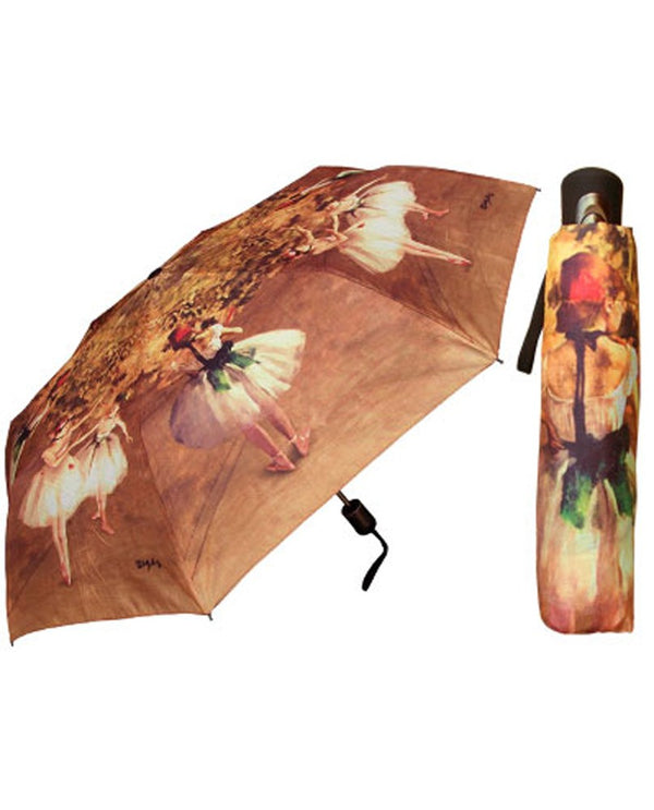 Ballerina Print Umbrella