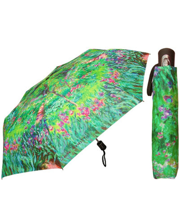 Monet Print Umbrella