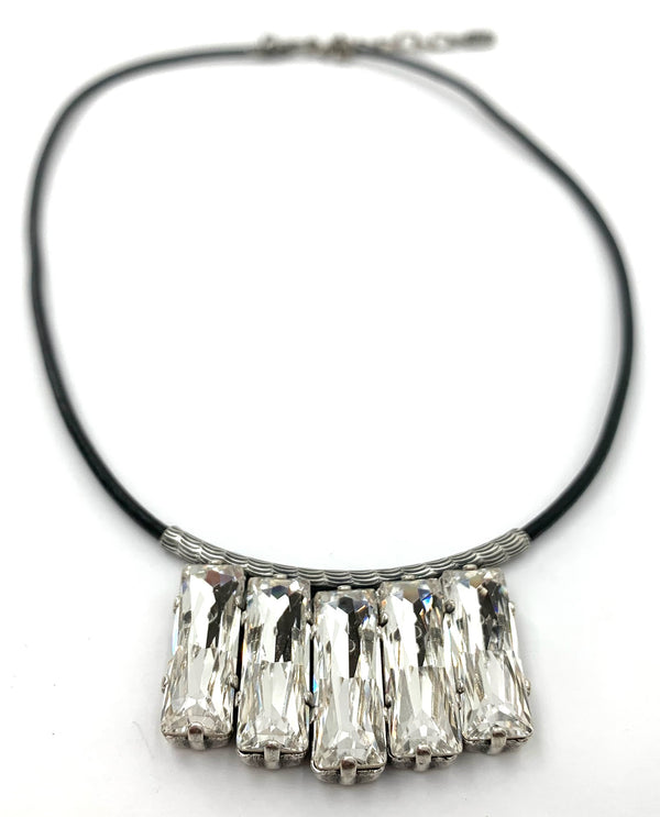 Rachel Marie Designs Bianca Leather Necklace